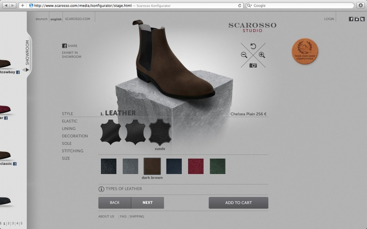 Footwear   Configurator Database
