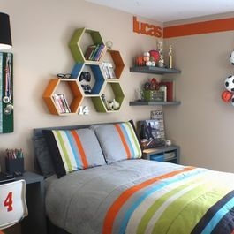 Tween Boy Bedroom Design Ideas, Pictures, Remodel, and Decor - page 20: