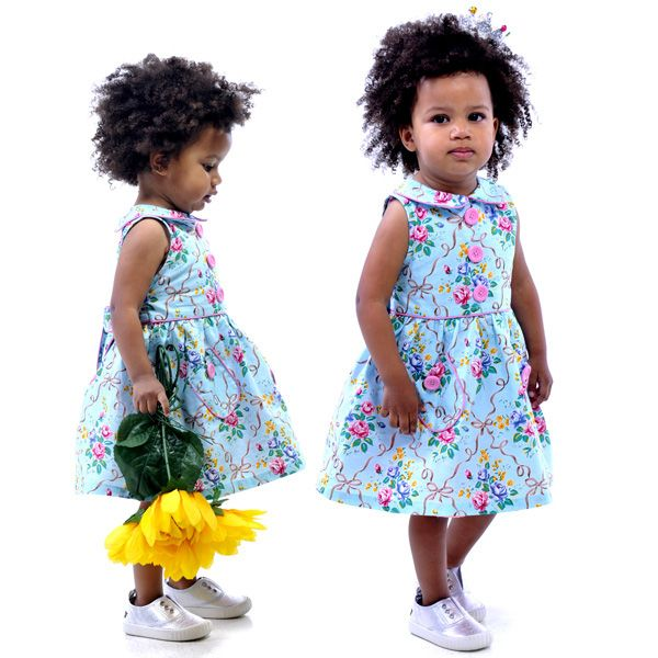 Floral Ribbons Party Dress  (Sizes: 1-8 yrs) | Rock Your Kid summer 14 / 15 |