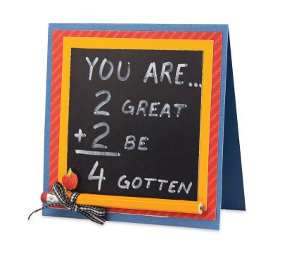 """You Are..."" Teacher Appreciation Card"