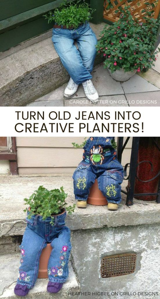23 Repurposed Planter Ideas For Your Home & Garden • Page 2 of 3 • Grillo Designs