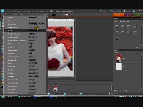 Creating Word Art With Photos in Photoshop Elements, part 1