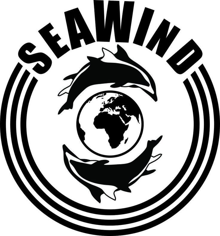 Seawind logo for printing.  #dolphin #illustration #design #capetown #jaccirdesign