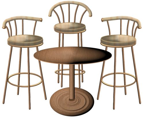 Best CLIP ART FURNITURE AND STUFF Images On Pinterest - Table and chairs clipart
