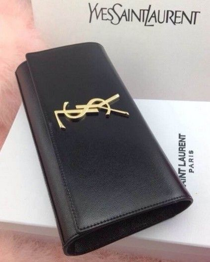 ysl replica handbags - 2014 Cheap YSL Classic CASSANDRA Saint Laurent Clutch in black,YSL ...