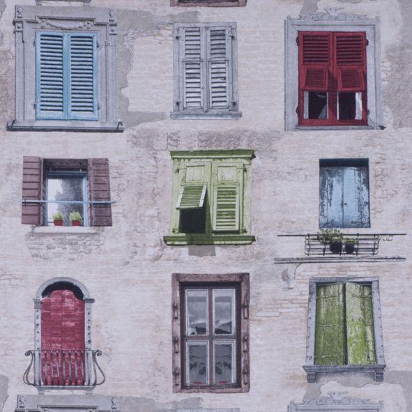 Dekorační látka Okna