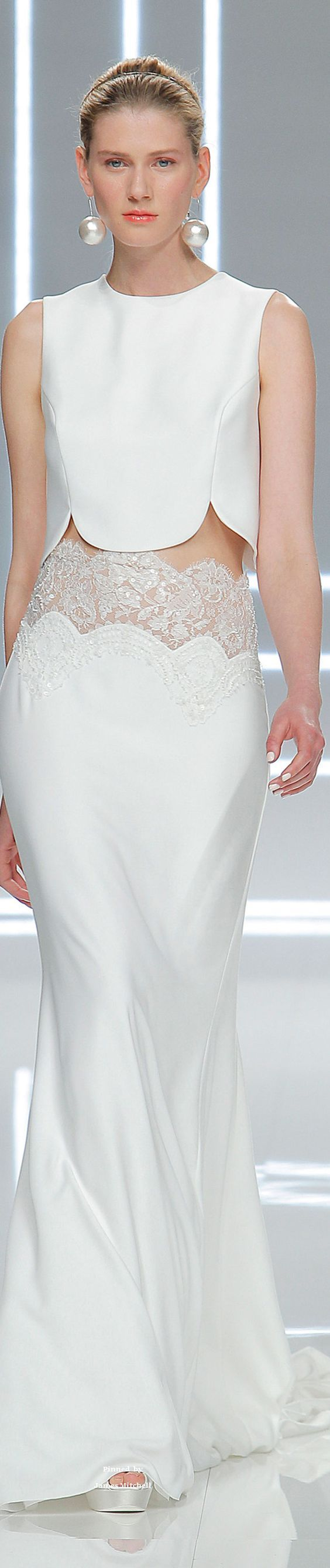 Rosa Clará Collection Spring 2017 Bridal