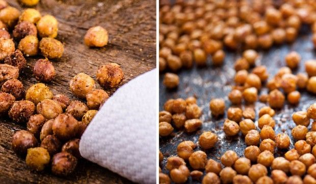 Křupavá dobrota – opékaná cizrna s pikantním kořením