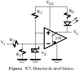 Detector de nivel con LM339