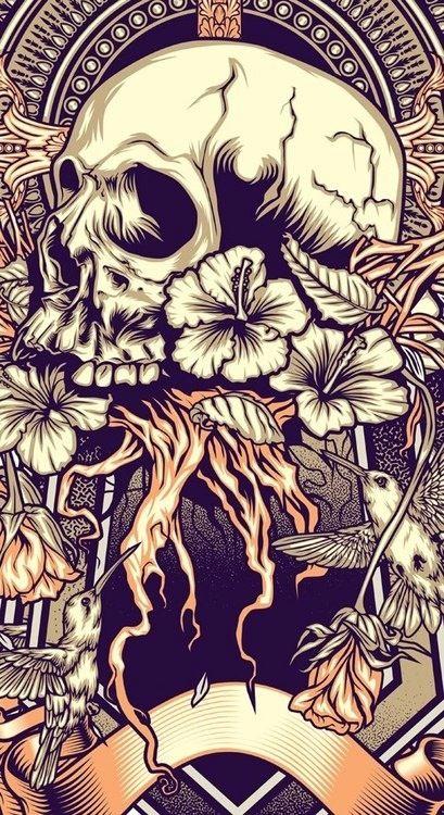 Scared - Skullspiration.com - skull designs, art, fashion and more