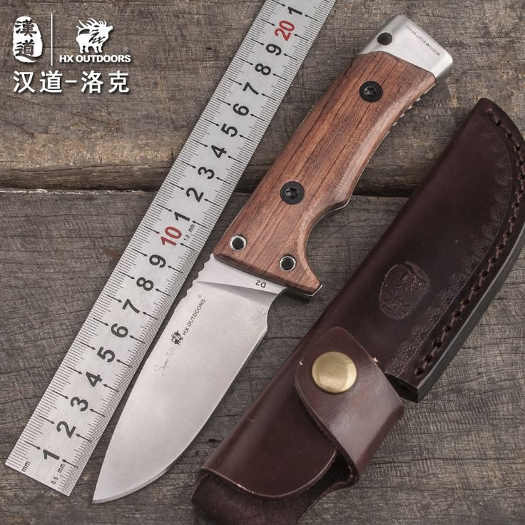 101.99$  Watch here - http://alixyb.worldwells.pw/go.php?t=32778170824 - HX OUTDOORS Lok wood handle tactical high hardness straight knife wilderness survival knife self-defense outdoor knife tools