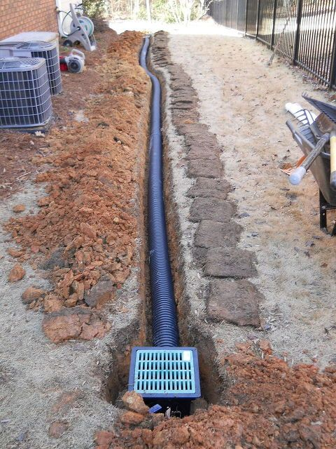 Garden drainage french drain 2017 2018 best cars reviews for Outside drainage system