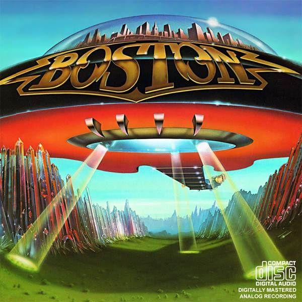 boston album covers   albumart boston 50 Amazing Album Cover Art