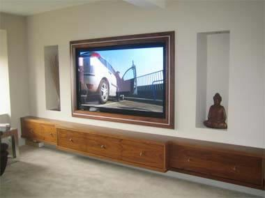 Recess Tv Into Wall Google Search Dream Home