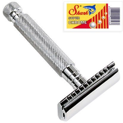 Double Edge Safety Razor by Parker, available at Studio Colfax | .studiocolfax.