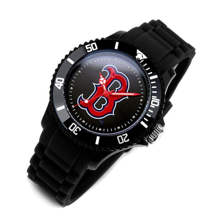MLB303 Series Official Boston Red Sox Unisex Fashion Wrist Watch_3 options #MLB #BostonRedSox