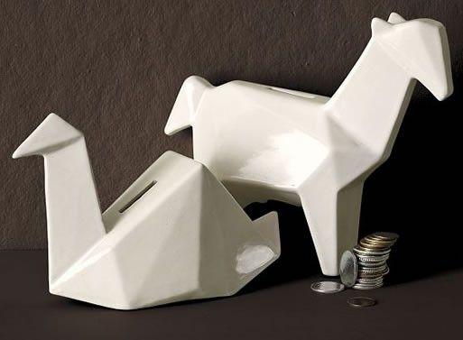 Origami Banks — ACCESSORIES -- Better Living Through Design