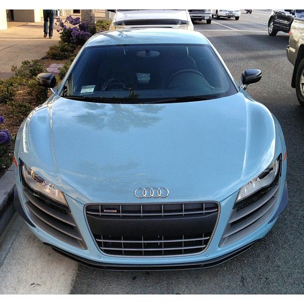 baby blue audi r8 gt in newport beach luxury car. Black Bedroom Furniture Sets. Home Design Ideas
