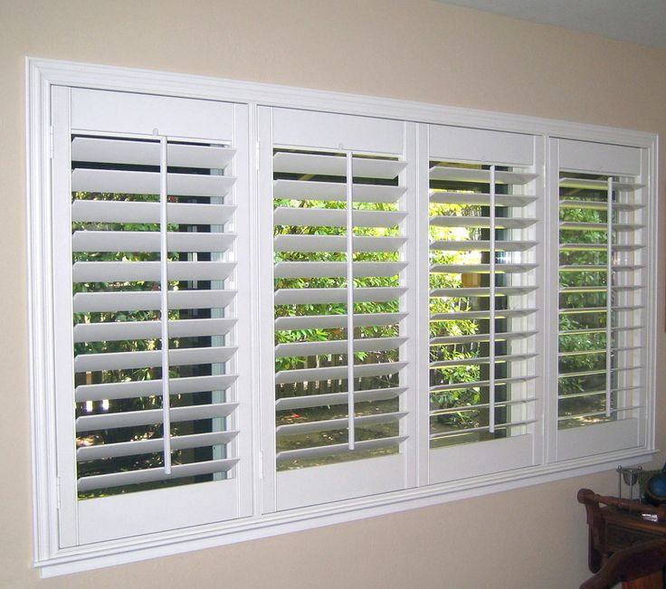 25 best ideas about interior window shutters on pinterest for Interior window shutter designs