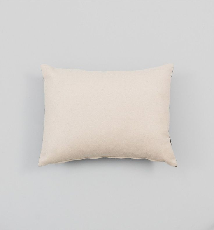 Colourblock Cushion in Sand