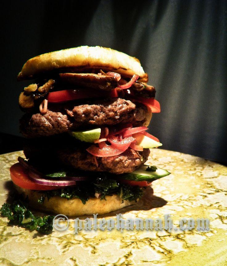 Palæo burger