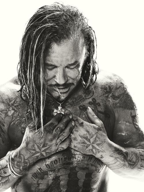: Studios Portraits, Dreams Man, American Actor, A Real Man, Michael Muller, Irons Man, Portraits Photography, Mickey Rourke, Tattoo Ink