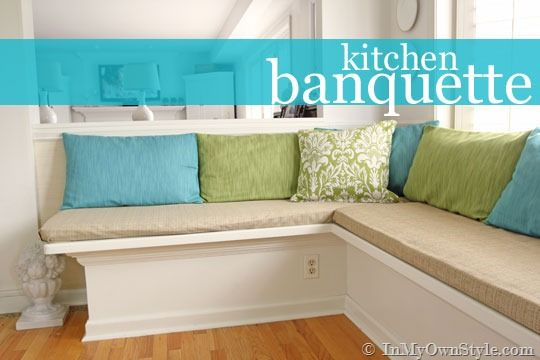 Banquette Window Seat Makeover A Well Blogger Home And