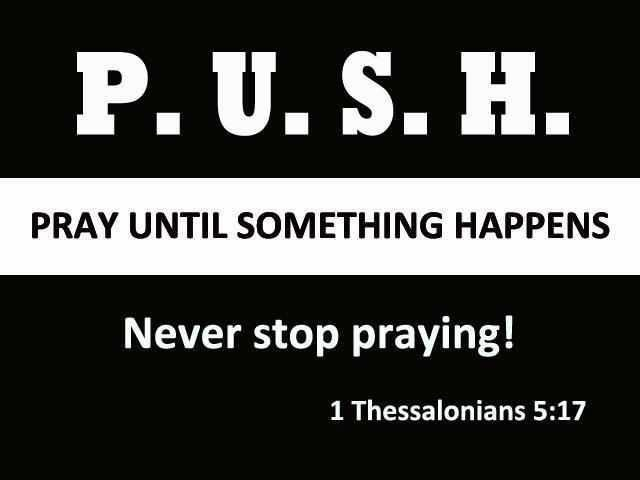 Image result for jesus daily dose pray until something happens
