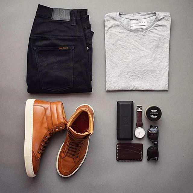 @stylesofman featuring @koiocollective  Who else loves this brown?