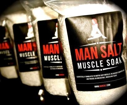 ManSalt Muscle Soak. Bath Salts for Men 32oz/2LB by ManSalt. $17.45. Mansalt was developed primarily for males looking to relax their muscles after a strenuous work out, athletic competition or day on the job site, office or trader floor. Mansalt is a custom formula engineered to relax achy muscles, improve skin quality, and leave users skin smelling great.. Mansalt is produced with a very high level of quality control and follows strict quality guidelines and consistent opera...