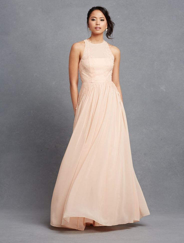 12 best peach bridesmaid dresses images on pinterest
