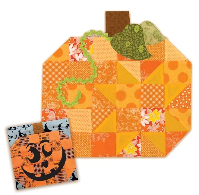 Free Pennys Patchwork Pumpkin Block Pattern Download - Fun on the