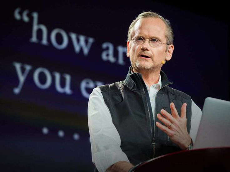 """❛Lawrence Lessig❜ TED 2014: The unstoppable walk to political reform • """"Seven years ago, Internet activist Aaron Swartz convinced Lawrence Lessig to take up the fight for political reform. A year after Swartz's tragic death, Lessig continues his campaign to free US politics from the stranglehold of corruption. In this fiery, deeply personal talk, he calls for all citizens to engage, and offers a heartfelt reminder to never give up hope."""""""