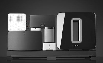 Sonos wireless speakers enable you to stream music from any source to any room in your house with no loss of audio quality.