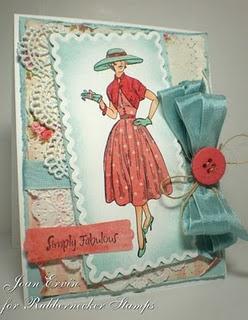 Love this card by Joan Ervin w/ Spellbinders dies