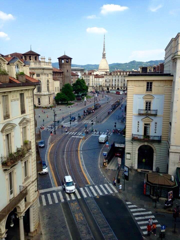 #Torino #vistadall'alto  Learn Italian in Turin www.ciaoitaly-turin.com