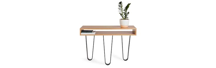 SABINE CONSOLE- Available in solid, reclaimed Otway Ranges Stringybark, Telegraph Pole Ironbark, Mildara Wine Vat French Oak, Blackwood, Messmate, Tasmanian Oak, Blackbutt, Victorian Mountain Ash, Jarrah, Redgum and sustainable American Oak.