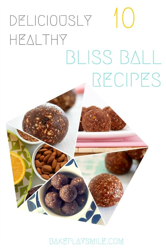10 Deliciously Healthy Bliss Ball Recipes