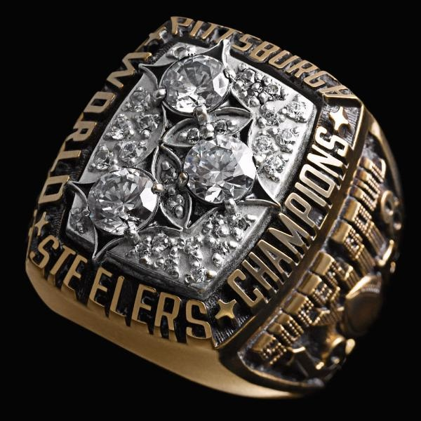 Super Bowl XIII Championship Ring -  Pittsburgh Steelers