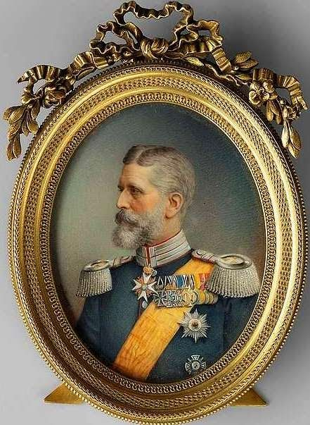 THE KING H.M. King Carol I of Romania by Zengraf