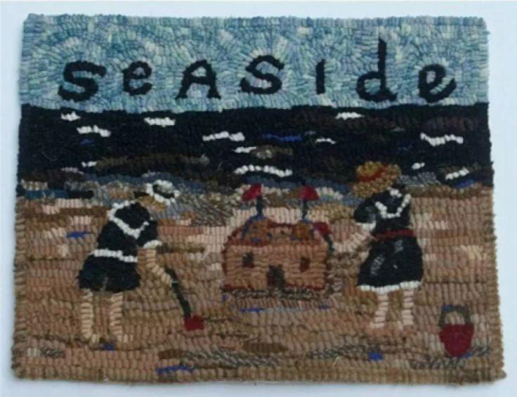 Hooked Rug Seaside Even More Hooking Pinterest
