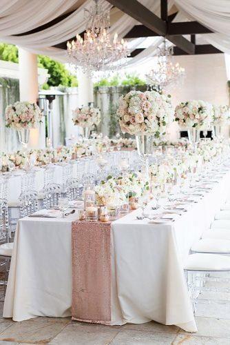 Glam Wedding Decor Ideas ★