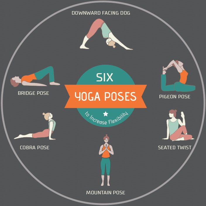 6 Yoga Poses to Increase Flexibility