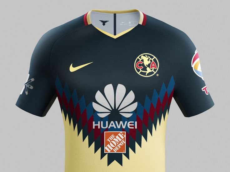 Club América 17-18 Home Kit Revealed - Footy Headlines