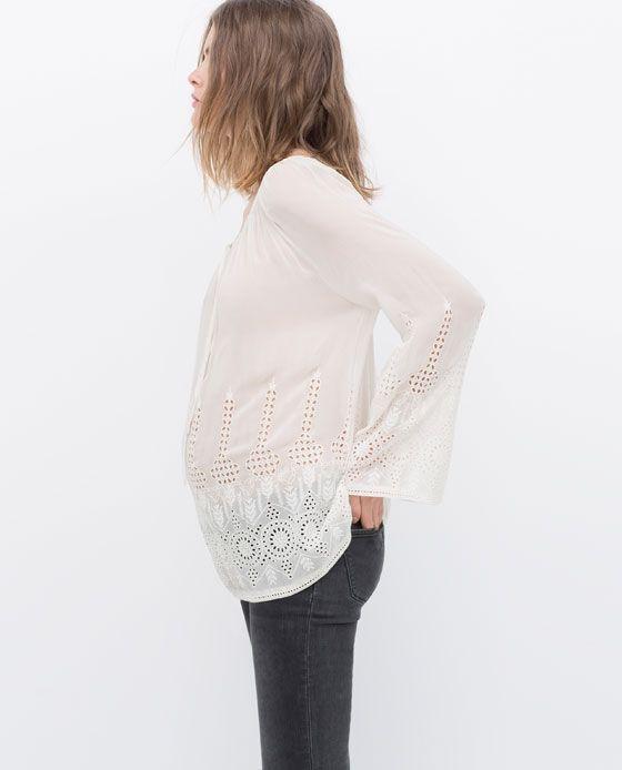 Fast fashion para grávidas - zara
