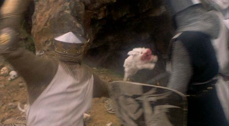 Rabbit of Caerbannog, from Monty Python and the Holy Grail.