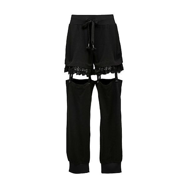 Suspenders Pants (452 010 LBP) ❤ liked on Polyvore featuring pants
