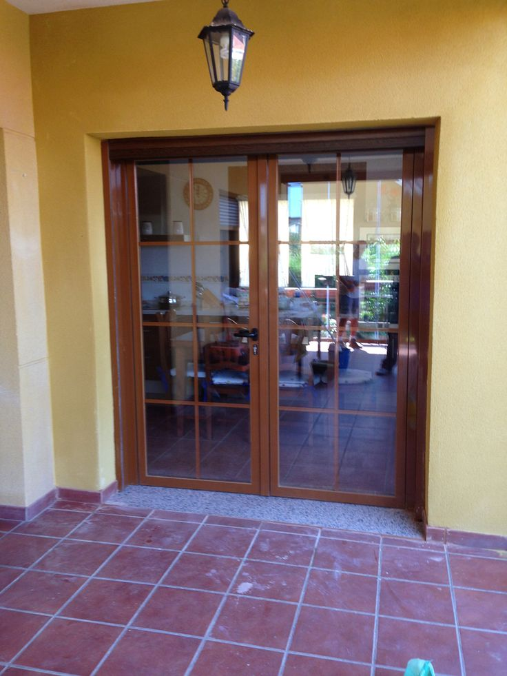 20 best images about puertas y ventanas on pinterest for Puertas de madera con vidrio