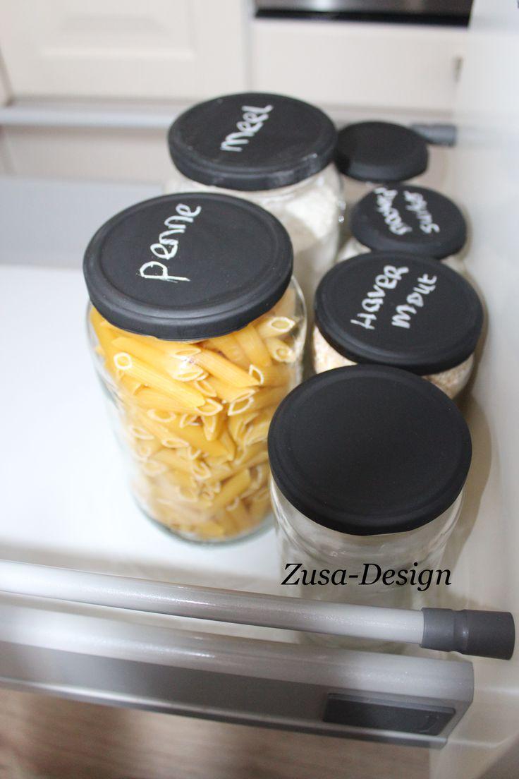 ZUSA-DESIGN | Reorganiseer je keukenkastjes!  #diy #wonen #interieur #tutorial #inspiratie #organiseren #opbergen #keuken www.zusa-design.nl