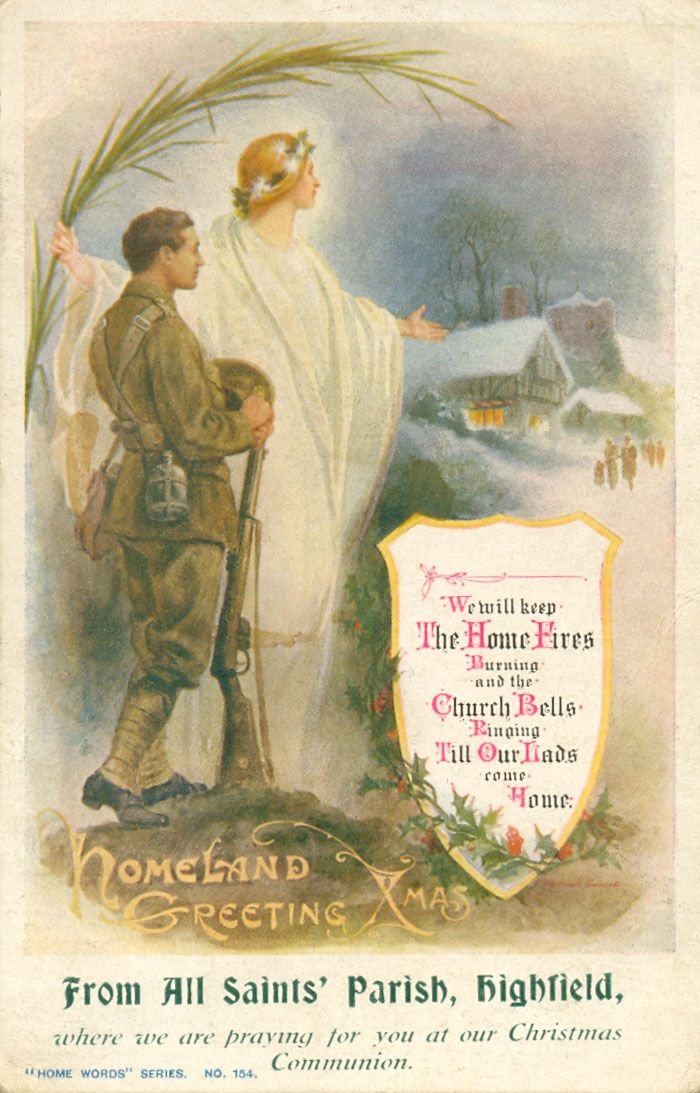 Christmas card from 1914.